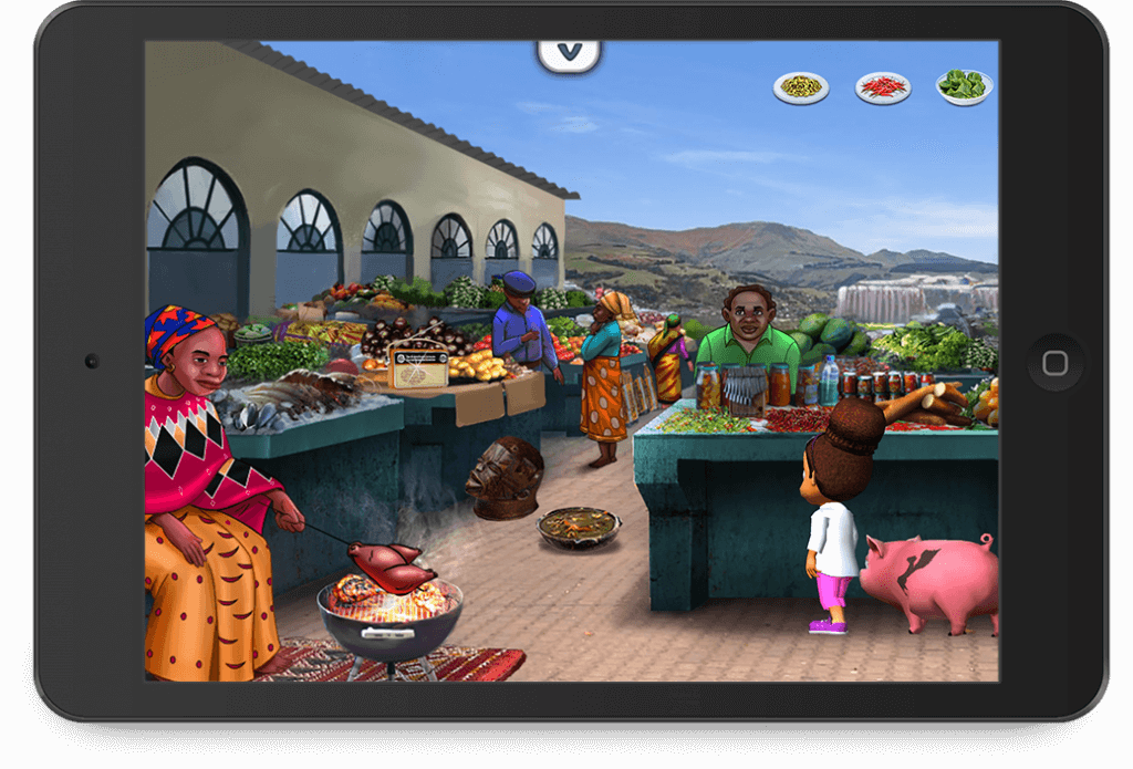 Issa's Edible Adventures - Children's cooking games & recipes educational app developed by Zco
